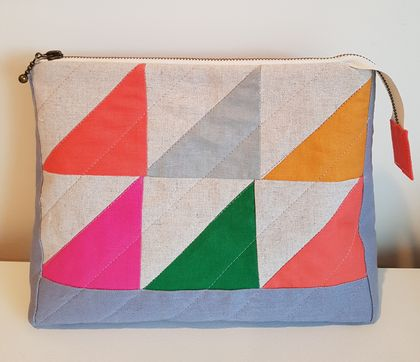 Triangles Toiletry Bag