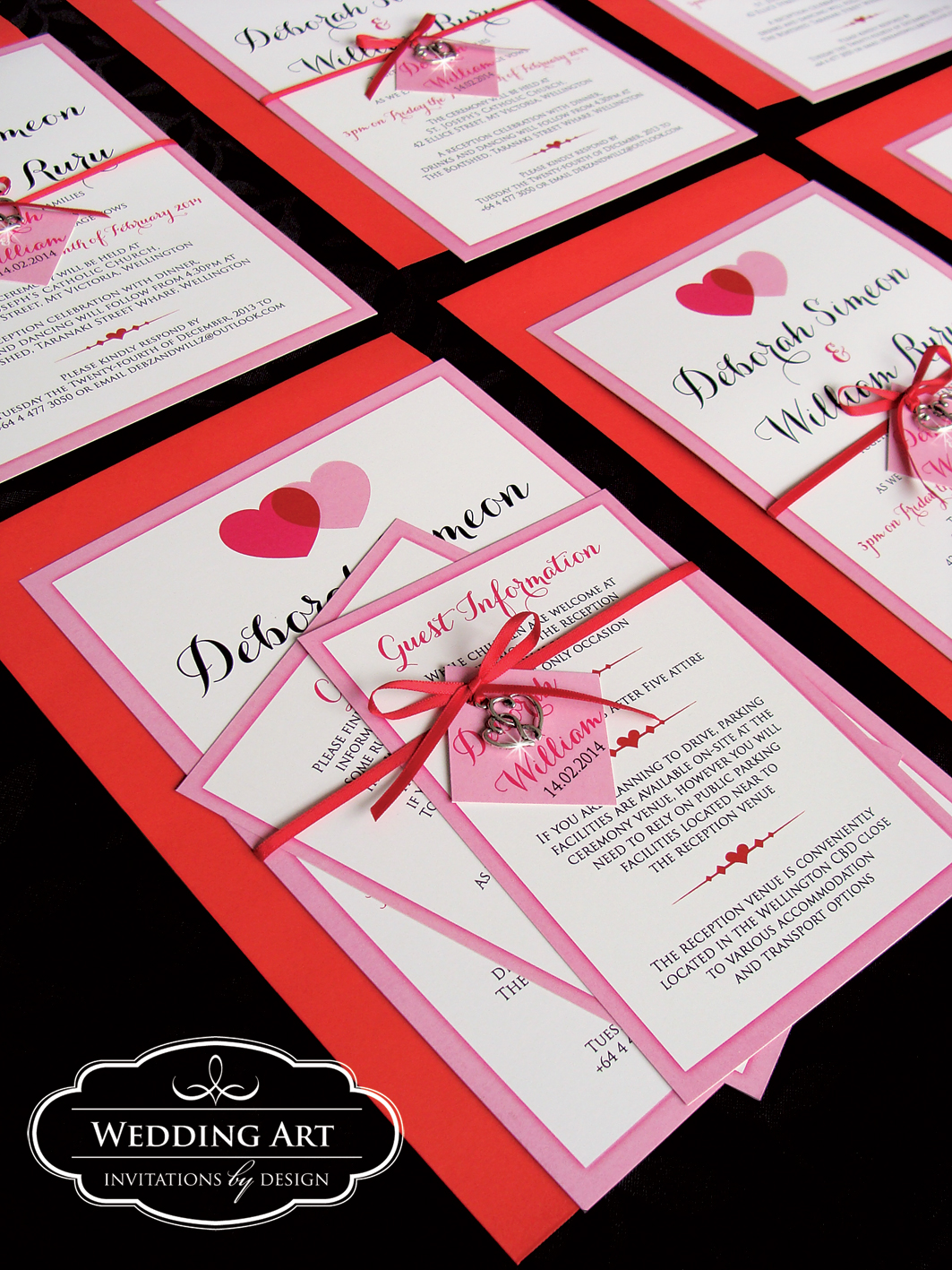 Heart Wedding Invitations for nice invitation template