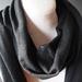 Extra large merino wool scarf/shawl