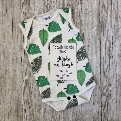 Organic Singlet Bodysuit - Tropical