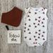 Organic Singlet Bodysuit - Pohutukawa