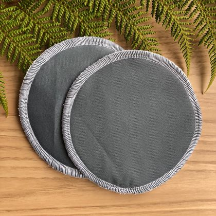 Reusable Breast Pad - Slate Grey