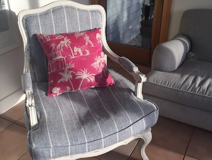 Toile Pattern Cushion