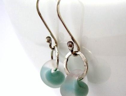 Frozen Dewdrop Earrings in Sterling Silver
