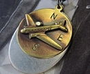 Military Vamp Oval Tags Pendant