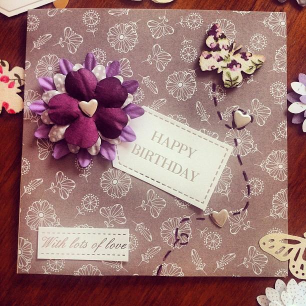Handmade greeting card butterfly love felt handmade greeting card butterfly love m4hsunfo