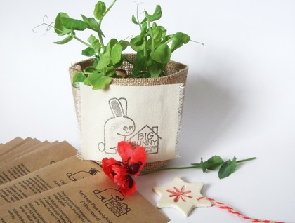 Big Bunny's Great Big Little Seed Sack - Flowers