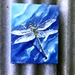 DRAGONFLY Art Panel,  Outdoor Wall Art.