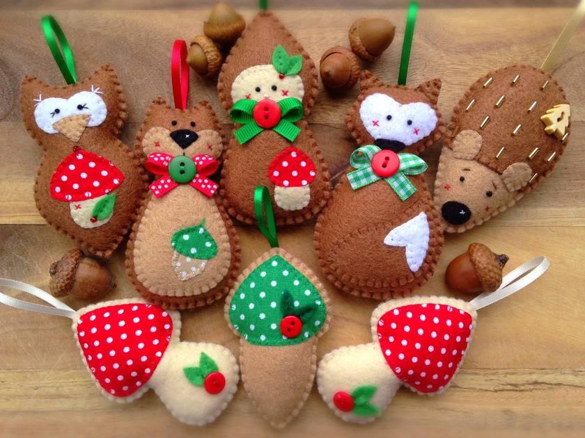 Hedgy Hedgehog - Woodland Christmas