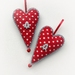 Scandi Heart Ornament