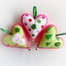 Christmas Candy Hearts - Set of Three