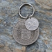 Pre Decimal NZ Coins Key Ring