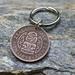 Half Penny Key Ring