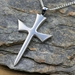 Sterling Silver Cross on Sterling Silver Chain