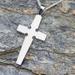 Sterling Silver Cross Handmade