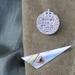 Half Crown Lapel / Hat Pin / Brooch