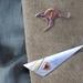 Kangaroo Lapel / Hat Pin / Brooch