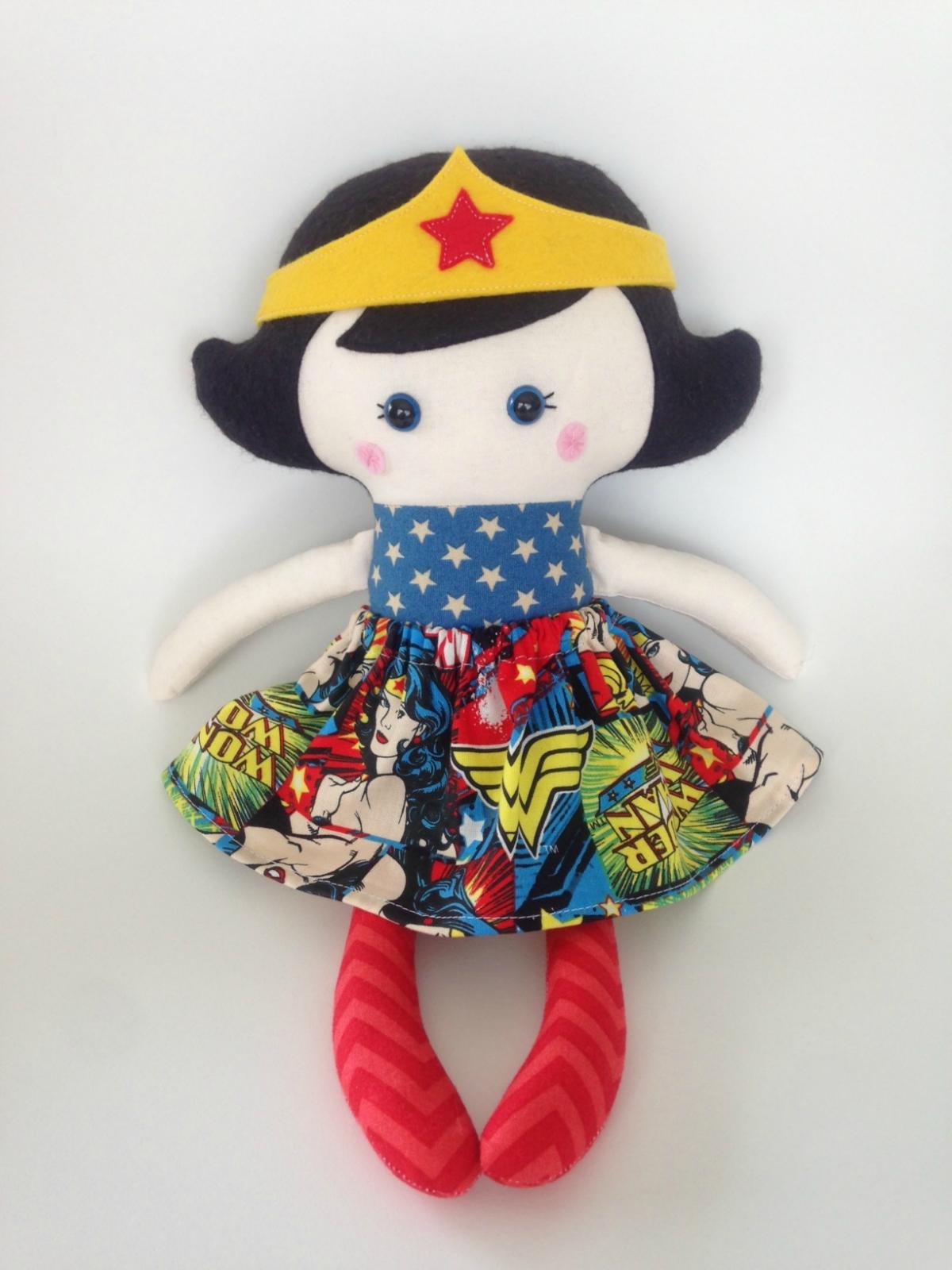 Zealous Design Wonder Woman Doll  Felt-2720
