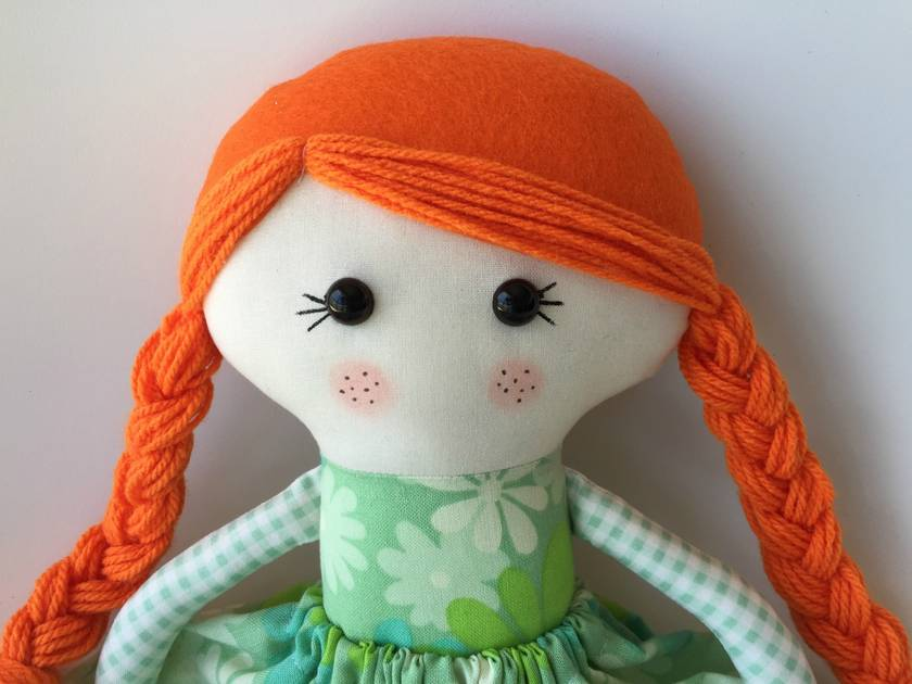 ***SALE*** ZEALOUS DESIGN DRESS UP DOLL - Vintage lass