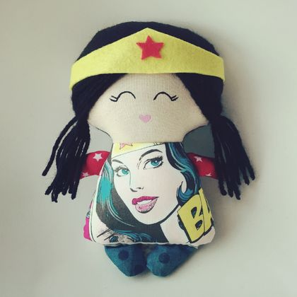 ZEALOUS DESIGN TINY TOT DOLL ~ Wonder Woman