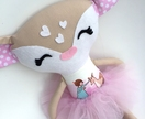 ZEALOUS DESIGN DRESS-UP DOLL - Ballerina Deer