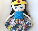 ZEALOUS DESIGN WONDER WOMAN DOLL **ON SALE**