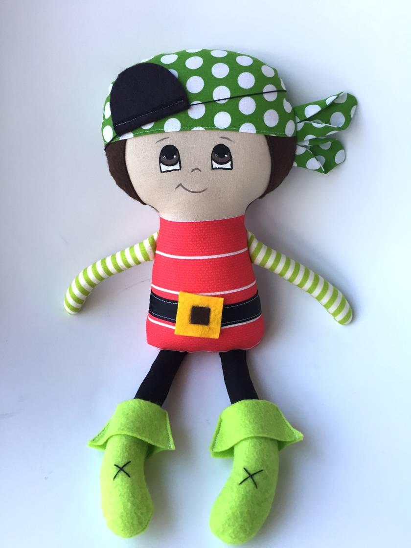 SALE **** DRESS-UP DOLL - Pirate Paul