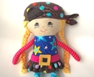 ZEALOUS DESIGN DRESS-UP DOLL - Pirate Polly