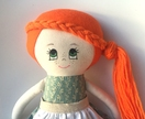 ZEALOUS DESIGN DRESS-UP DOLL - Anne of Green Gables