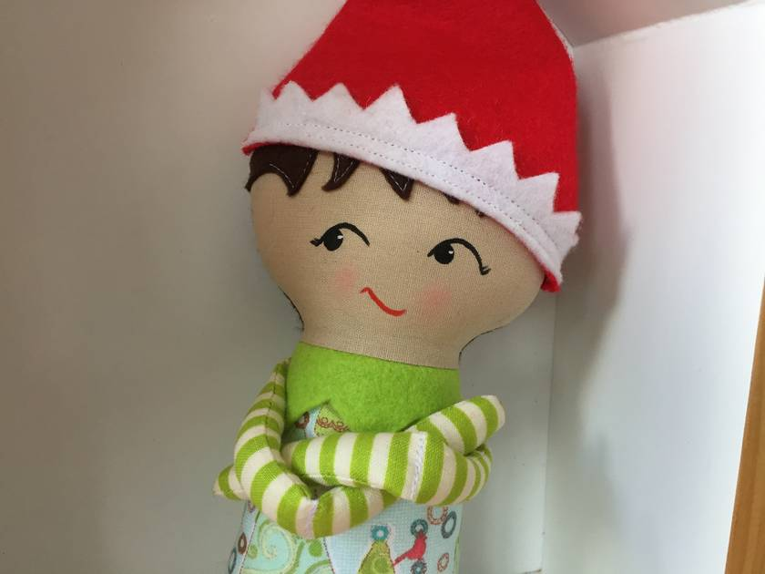 ZEALOUS DESIGN CHRISTMAS ELF ON THE SHELF