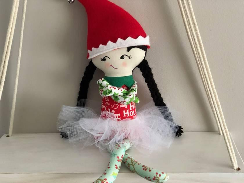 Zealous Design Christmas Elf On The Shelf Felt