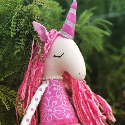 ZEALOUS DESIGN HEIRLOOM UNICORN - Pretty Pinky
