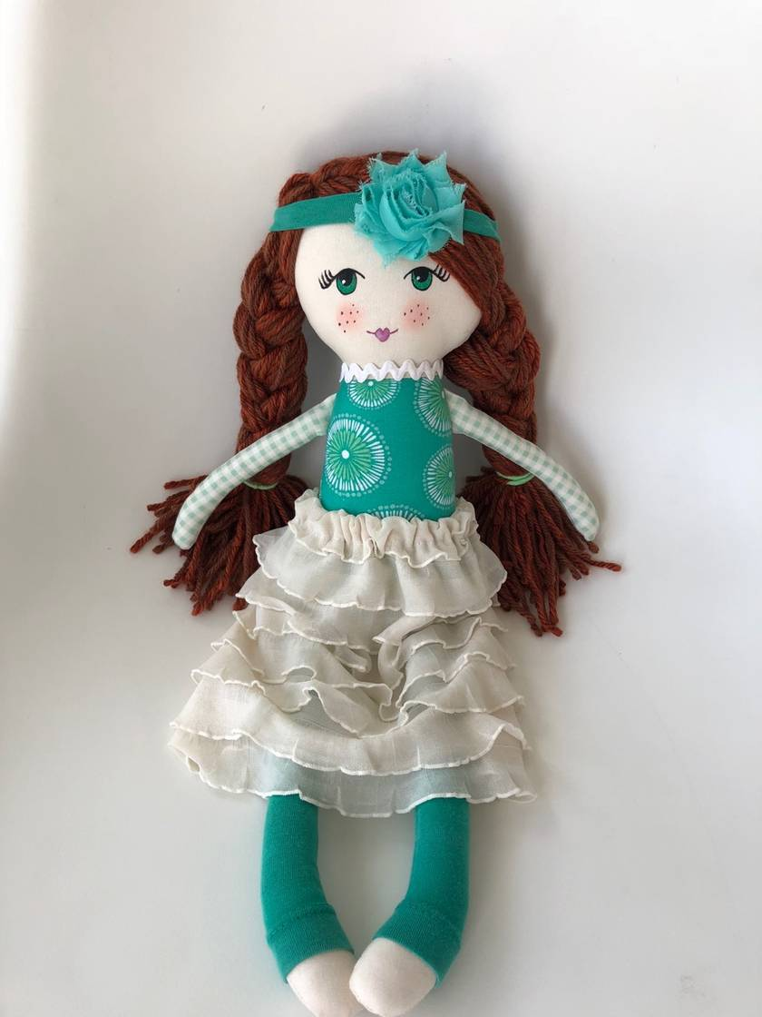 ZEALOUS DESIGN HEIRLOOM DOLL - Isla