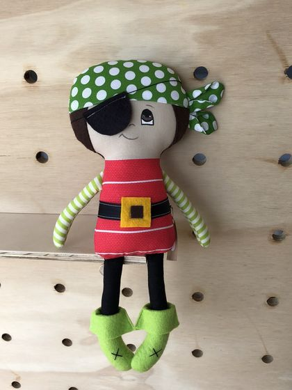 ZEALOUS DESIGN DRESS-UP DOLL - Pirate Paul