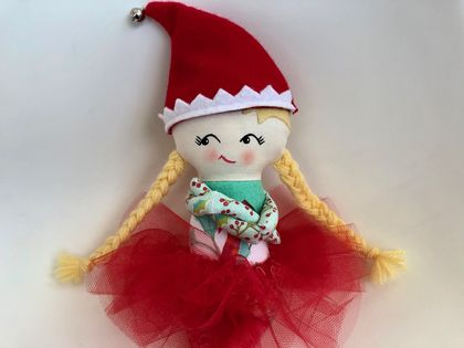ZEALOUS DESIGN CHRISTMAS ELF - Glitter Bell