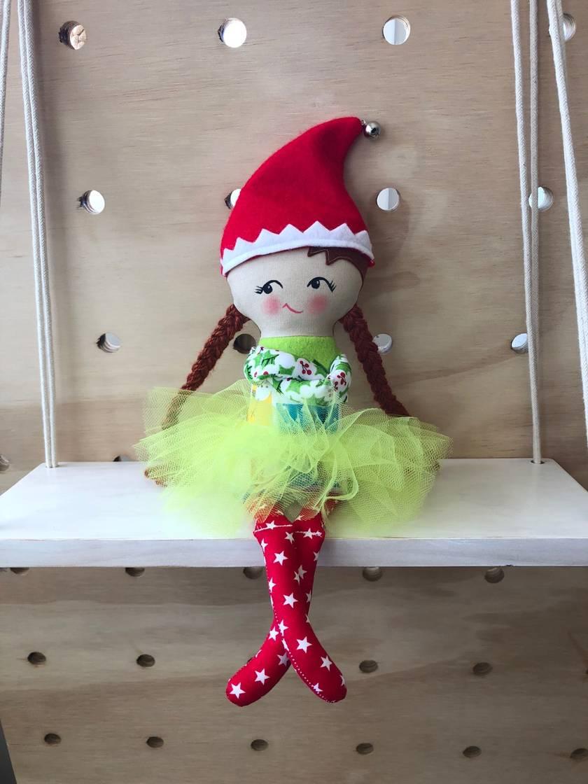 Zealous Design Christmas Elf Ivy Starlight Felt