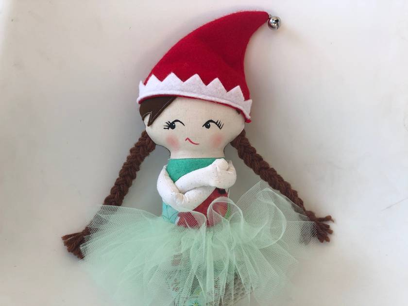 CHRISTMAS ELF - Merry Sugarbell