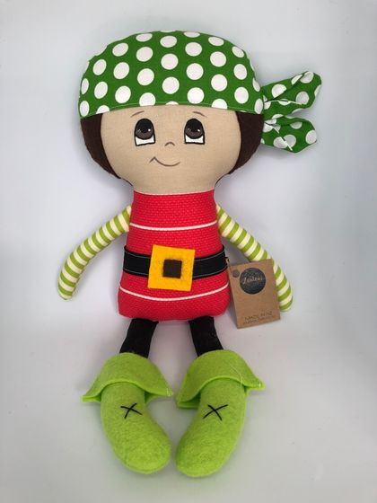 SALE **** DRESS-UP DOLL - Pirate Paul