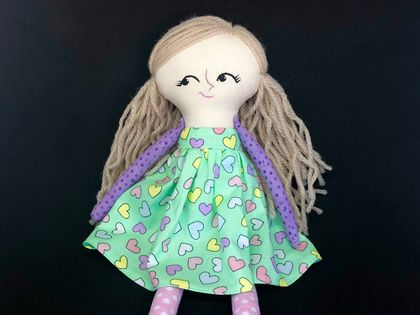 SALE **** HEIRLOOM DOLL - Sweet Faith
