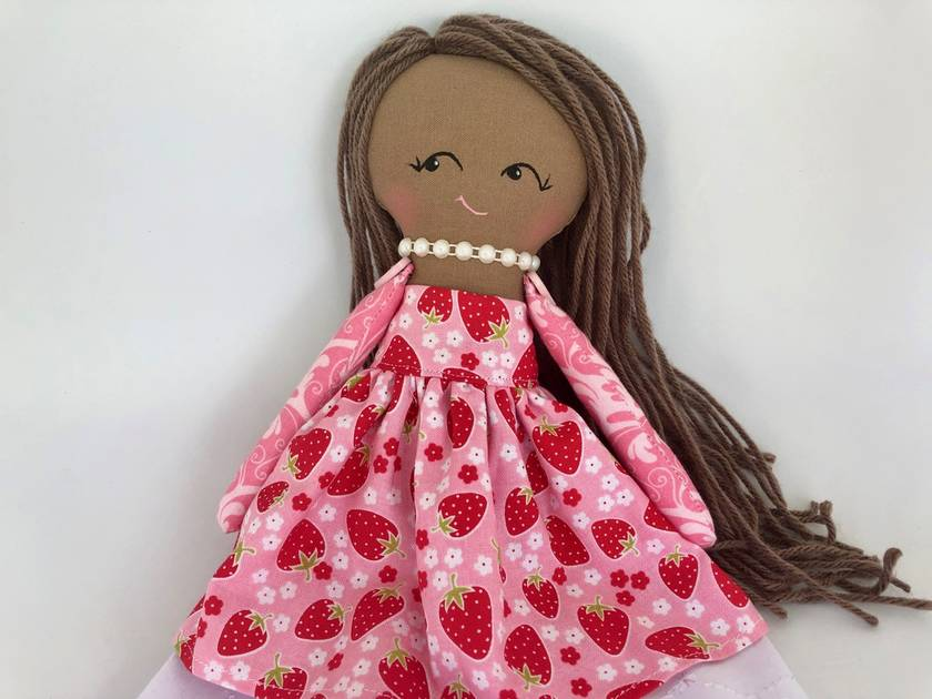 HEIRLOOM DOLL - Miss Strawberry