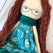 Handcrafted Heirloom Doll - Poppy