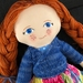 Handcrafted Heirloom Doll - Norah