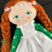 Handcrafted Heirloom Doll - Anne