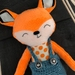 DRESS UP DOLL - Felix the Fox