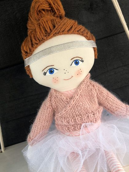 Handcrafted Heirloom Doll - Lylah