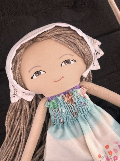 Handcrafted Heirloom Doll - Phoebe
