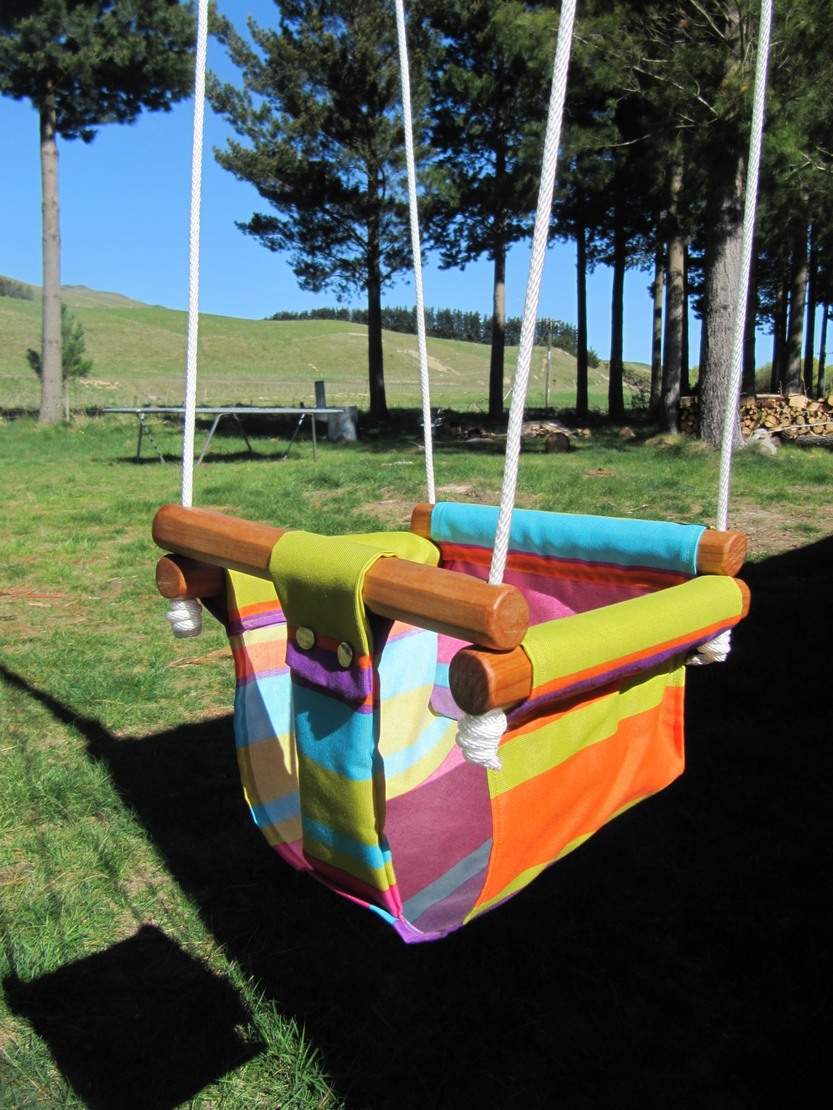 Baby Toddler canvas swing