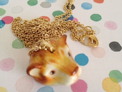 Woodland Bear Necklace