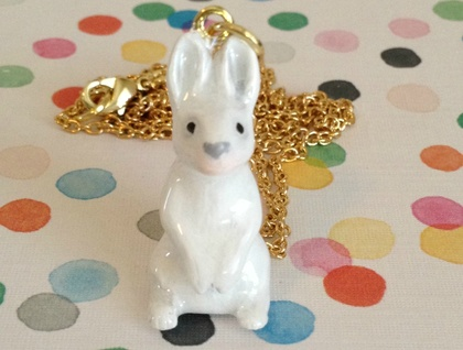 Forest Rabbit Necklace