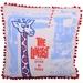 The Longest Drink in Town Giraffe Cushion